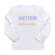Awesome autism cousin Long Sleeve Infant T-Shirt