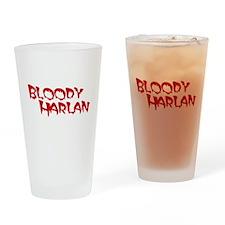 Bloody Harlan Drinking Glass