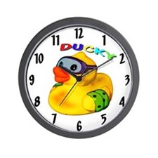 Ducky 1 Wall Clock