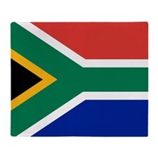 Flag South Africa Throw Blanket