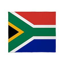 Flag South Africa Throw Blanket