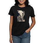 Elephant Dust Bath Women's Dark T-Shirt