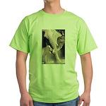 Elephant Dust Bath Green T-Shirt