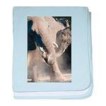 Elephant Dust Bath baby blanket