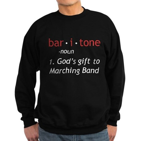 Definition of a Baritone Sweatshirt (dark)