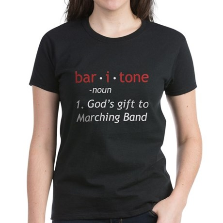 Definition of a Baritone Women's Dark T-Shirt