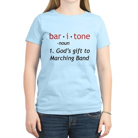 Definition of a Baritone Women's Light T-Shirt