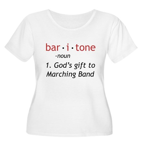 Definition of a Baritone Women's Plus Size Scoop N