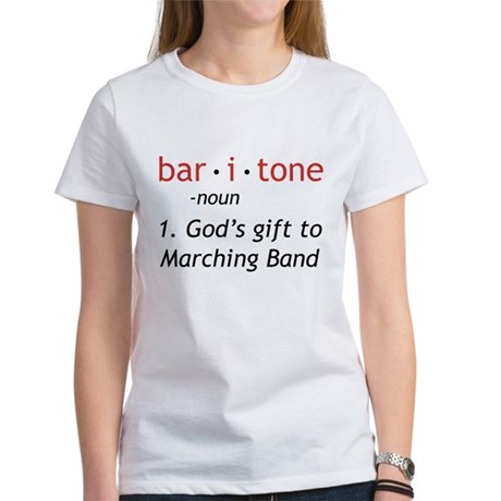 Definition of a Baritone Women's T-Shirt
