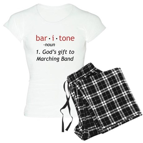 Definition of a Baritone Women's Light Pajamas