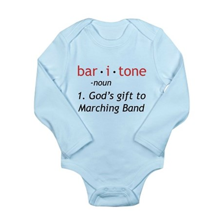Definition of a Baritone Long Sleeve Infant Bodysu