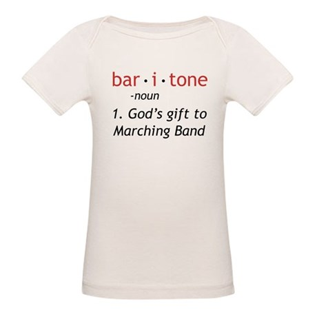 Definition of a Baritone Organic Baby T-Shirt