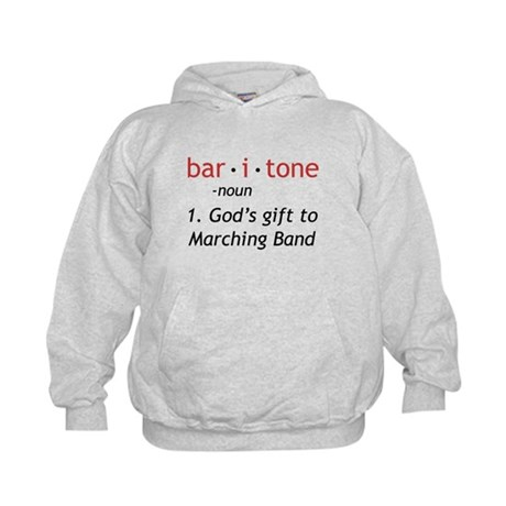 Definition of a Baritone Kids Hoodie
