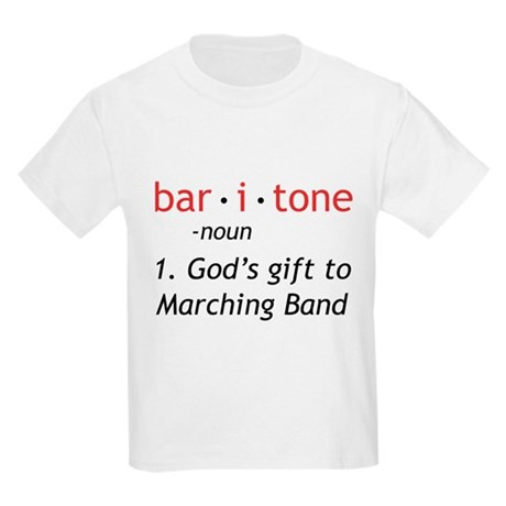 Definition of a Baritone Kids Light T-Shirt