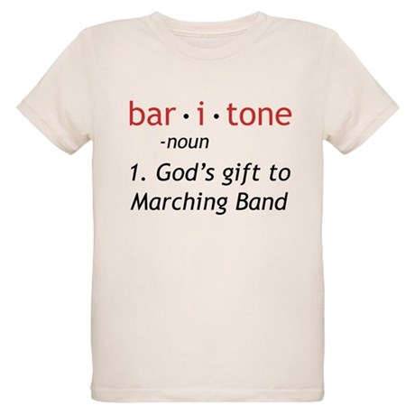 Definition of a Baritone Organic Kids T-Shirt