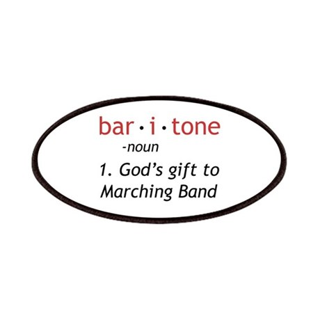 Definition of a Baritone Patches