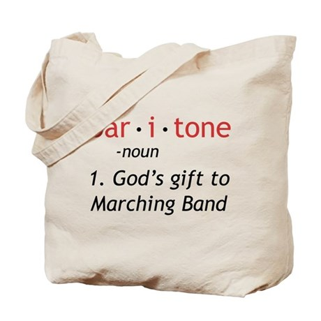 Definition of a Baritone Tote Bag