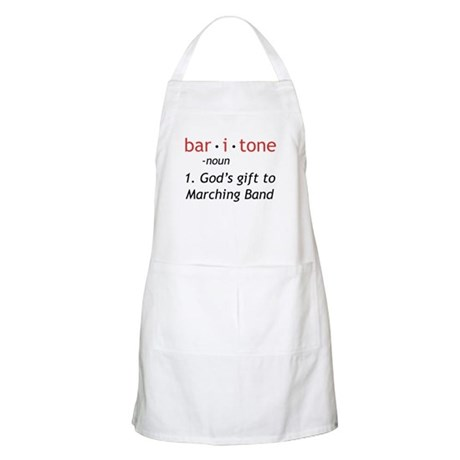 Definition of a Baritone Apron