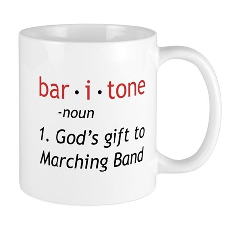 Definition of a Baritone Mug