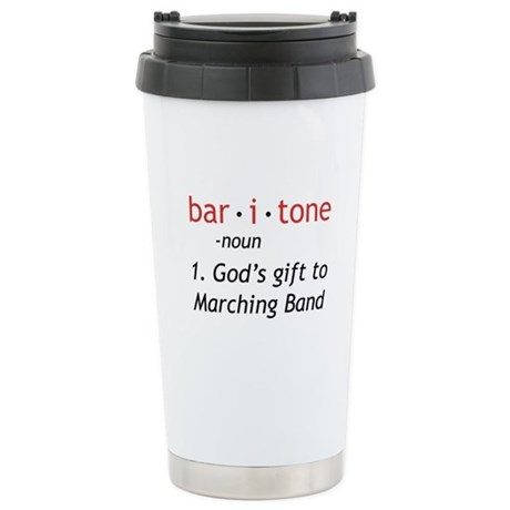 Definition of a Baritone Ceramic Travel Mug