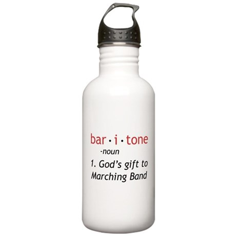 Definition of a Baritone Stainless Water Bottle 1.