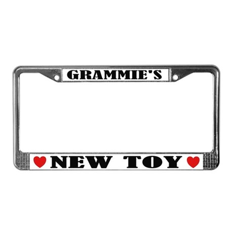 Grammie's New Toy Grandma License Frame