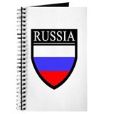 Russia Flag Patch Journal