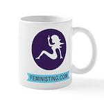 cafepressfeministinglogoandname Mugs