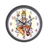 """Krishna"" Wall Clock"