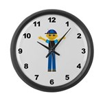 Boys Large Wall Clock