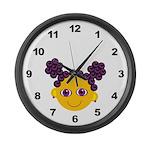 Girl Large Wall Clock