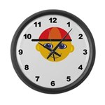 Boys Large Wall Clock