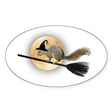 Witch Squirrel Decal