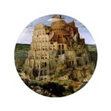 "Tower of Babel 3.5"" Button (100 pack)"