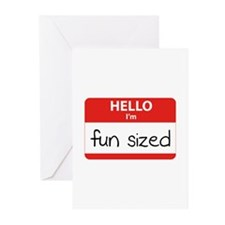 Hello I'm fun sized Greeting Cards (Pk of 20)
