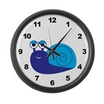 Boy Snail Large Wall Clock