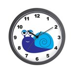 Boy Snail Wall Clock