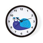 Boy Snail Wall Clock