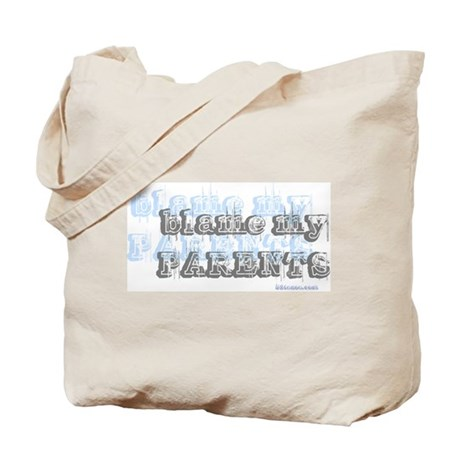 Blame My Parents, Funny Tote Bag