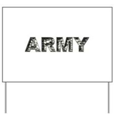 US ARMY Camo Yard Sign