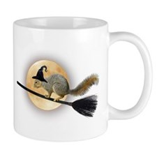 Witch Squirrel Coffee Mug