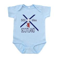 Scotland Football 500 miles Infant Bodysuit