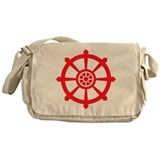Dharma Wheel Messenger Bag