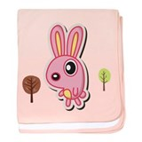 Funny Rabbit baby blanket
