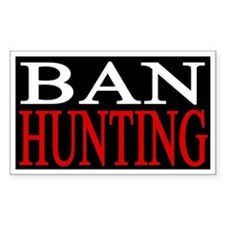 Ban Hunting Decal