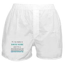 Cruisaholic (Personalized) Boxer Shorts