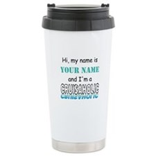 Cruisaholic (Personalized) Travel Mug