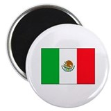 Flag of Mexico 2.25&quot; Magnet (10 pack)