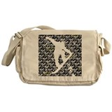 Chasm pattern Snowboarder Messenger Bag