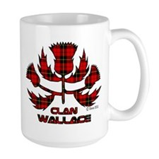 Large Clan Wallace Mug